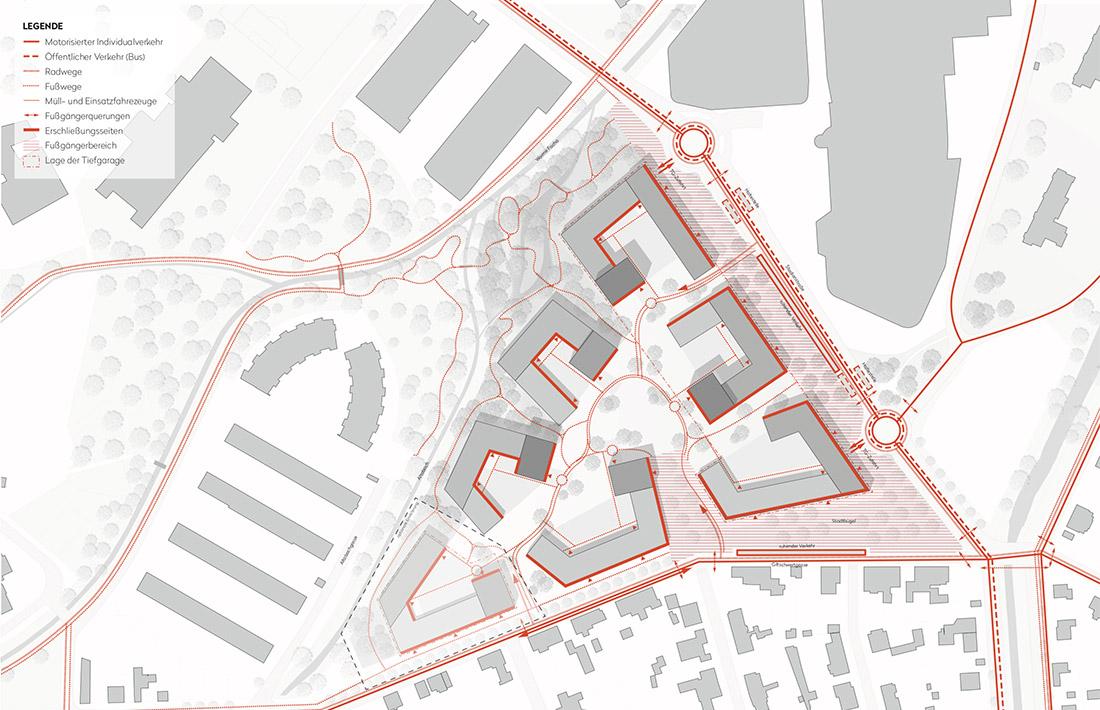 11_Wiener-Neustadt-Erschliessungskonzept_Raumposition/ Schneider + Schumacher/ Rajek Barosch/ Rosinak & Partner