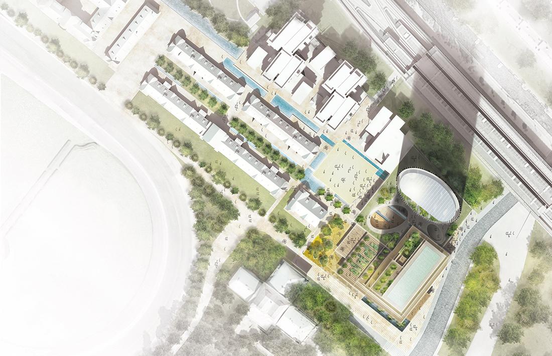 05_VZ-WB-Draufsicht_Mario Cucinella Architects/ TRIAX