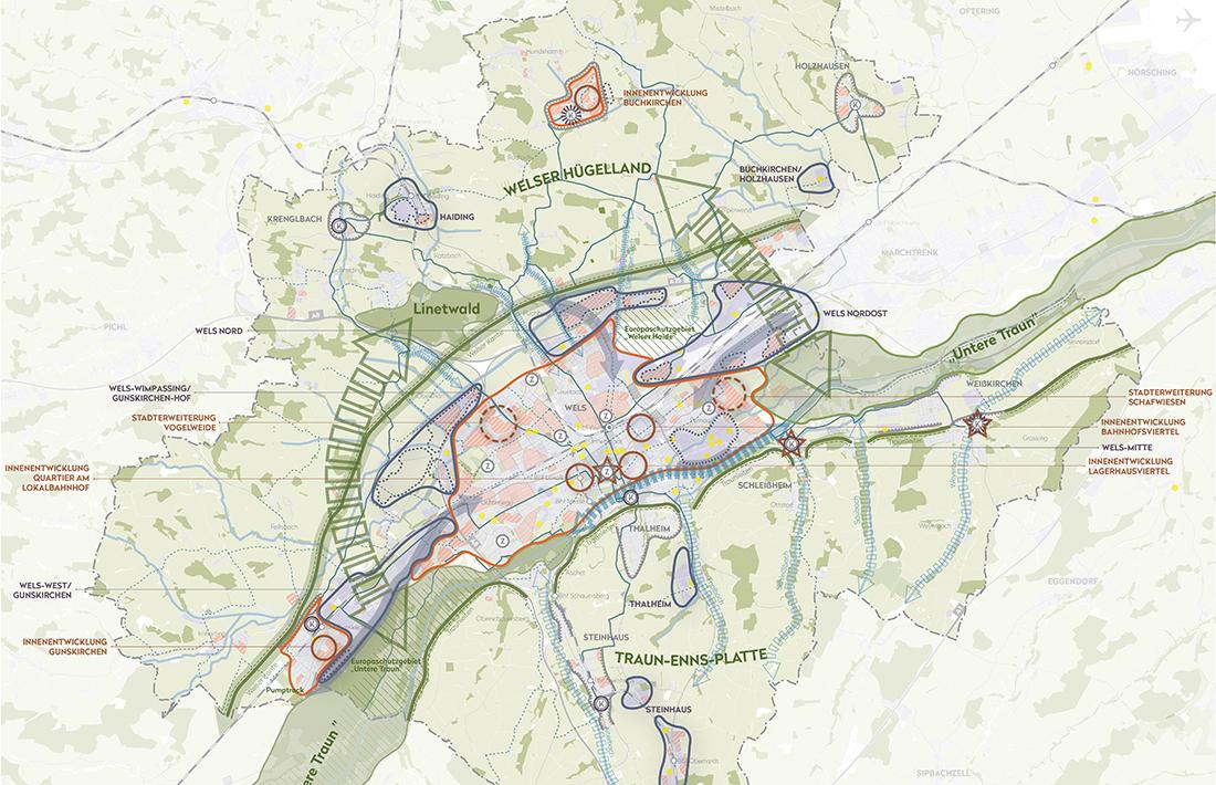 04_Stadtregion-Wels-Leitbildkarte_Raumposition