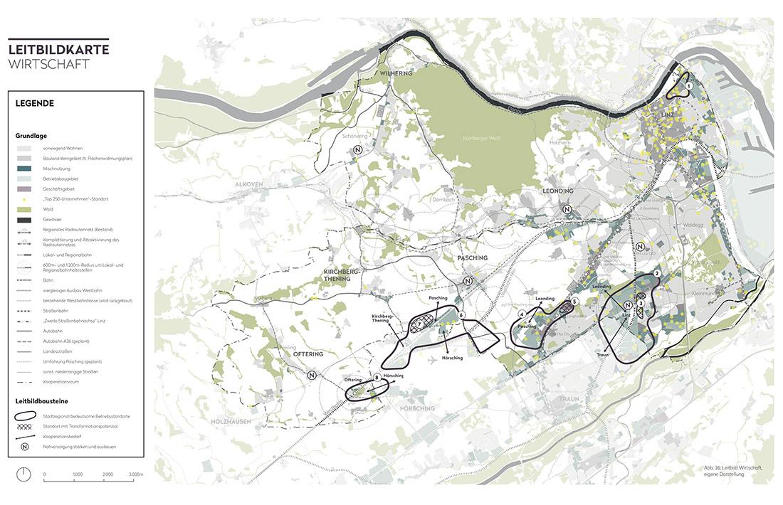15_Leonding-Leitbildkarte-Wirtschaft_Raumposition