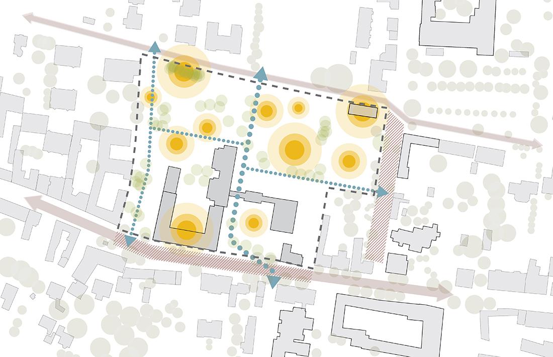 04_Biedermannsdorf-Weiterbauen_YEWO-Landscapes/Bogenfeld-Architektur
