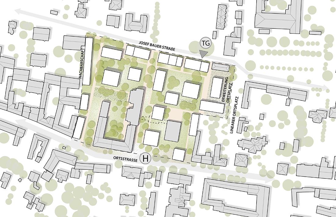 05_Biedermannsdorf-Variante-ohne-Schule_YEWO Landscapes/Bogenfeld Architektur